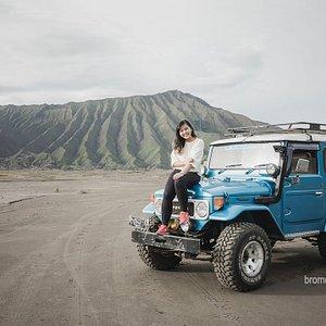 The Bromo Desert. Best Deals for Bromo and Semeru Trip,, join us at bromosmiling[dot].com