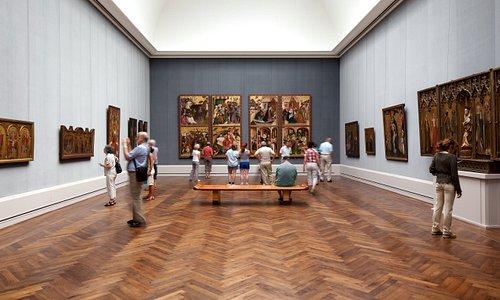 Die Sammlungspräsentation in der Gemäldegalerie © Staatliche Museen zu Berlin / Achim Kleuker
