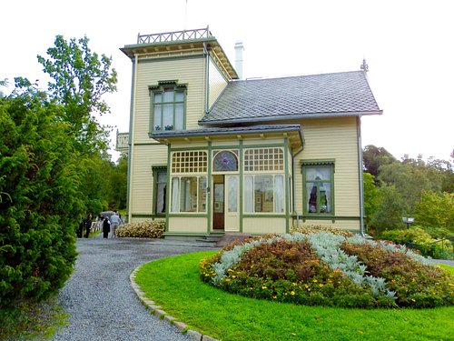 Grieg's house in Bergen