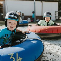 RINGOS! Whether it's part of a group or on your own, come and slide down our slope in a ringo!