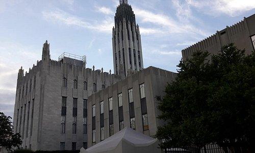 Outside Art Deco Architecture