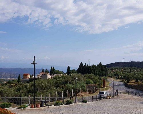 Vista panoramica dal Santuario