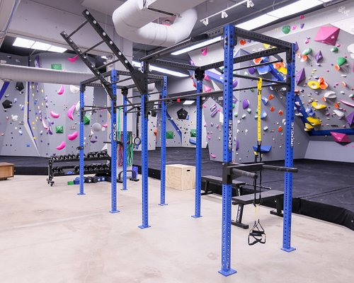 We have a large central fitness area