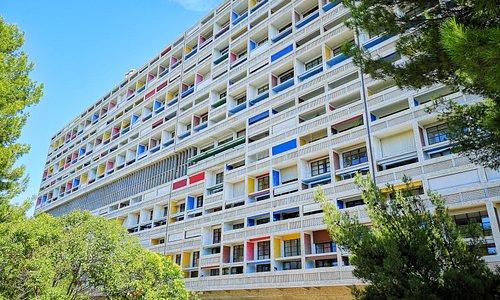 """Cité radieuse"""" Le Corbusier"""