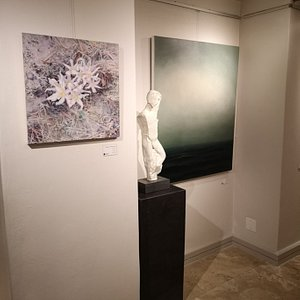 Paintings and sculpture