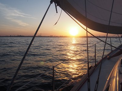manifique coucher du soleil
