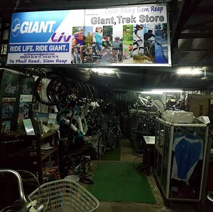 Cavar bike shop and office for the cycling tour package
