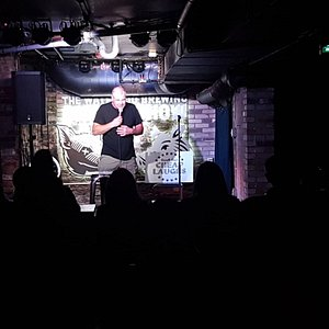 Live on stage in The Speakeasy Bourbon Bar in the bsmt