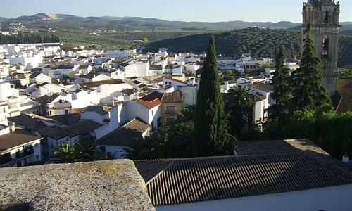 VIstas desde la Torre del Homenaje del Castillo de Cabra