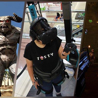 У нас много игр для виртуальной реальности!