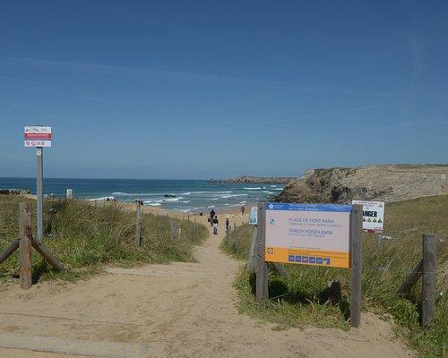 passaggio e sentiero per la spiaggia