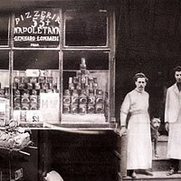 Opened in 1905, it has been acknowledged by the Pizza Hall of Fame as the first pizzeria in the