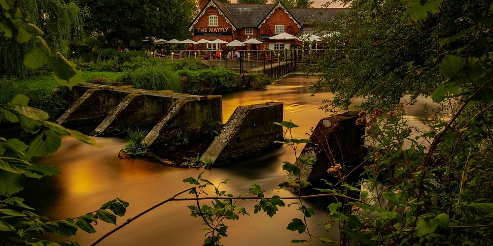 This truly is an amazing setting for a fantastic pub.