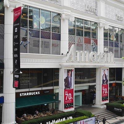 The Amarin shopping mall.