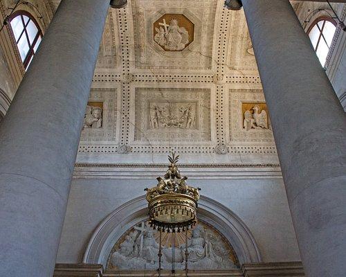 Interno e volta a botte della Chiesa del Nome di Gesù, Venezia