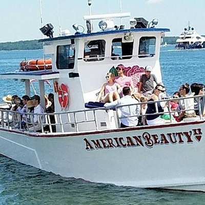 Private boat charter out of Sag Harbor. One of the top attractions in the Hamptons.