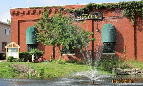 another of the front of the museum