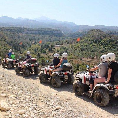 Nostos Safari-Mountain Safari with Quad Motorbikes