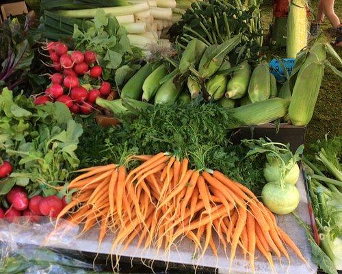 Fresh produce stall - 1