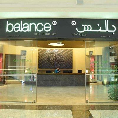 Balance Spa Entrance