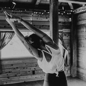 Inside Coastal Bliss Yoga Studio