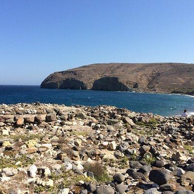 le rovine di Philakopi in un contesto ambientale di assoluta bellezza