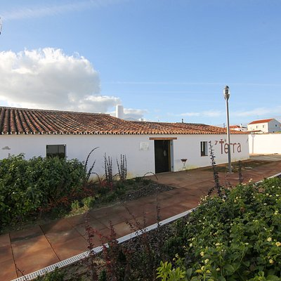 Casa do Barro, sala dos fornos a lenha, local onde decorrem workshops de Olaria e Pintura.