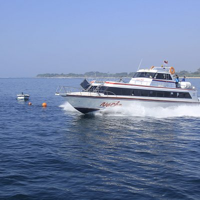 On the way to Nusa Lembongan, from Sanur
