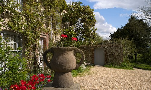 Begin your visit with a tour of the enchanting home of artists, Vanessa Bell and Duncan Grant.