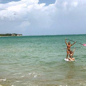 Fun time on the ocean!