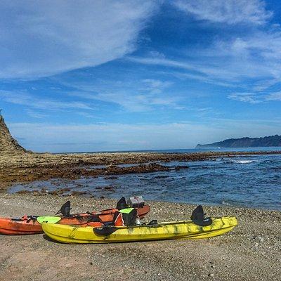 Ocean kayak tour to Chora Island