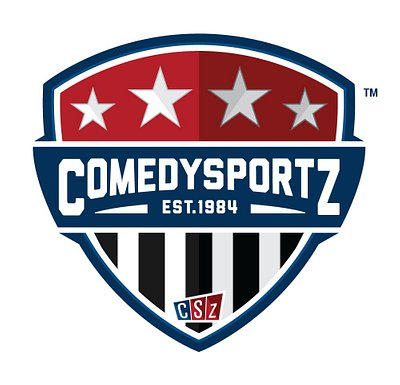 Our ComedySportz shield sported proudly on each player's jersey