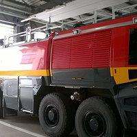 Véhicule des pompiers d'Orly