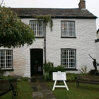 Lyn and Exmoor Museum in a stone cottage