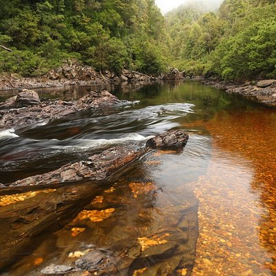 The Franklin River in Tasmania