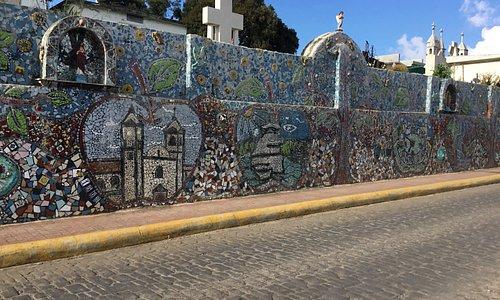 Mosaico de las principales atracciones de Zacatlán