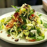 Calamari salad YUM!