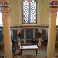 View from organ gallery to Chancel