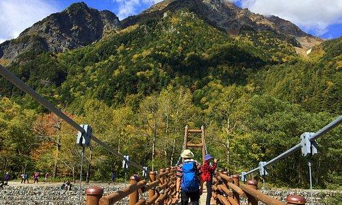 明神橋與明神岳