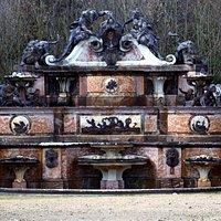 The water buffet fountain