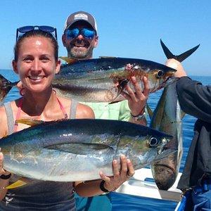 Catching tuna all day!