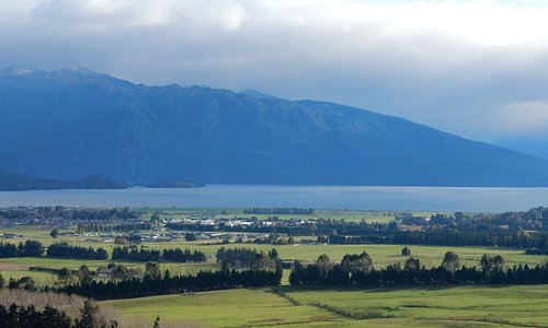 looking towards Te Anau