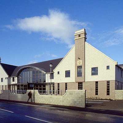 Orkney Library & Archive building on Junction Road.