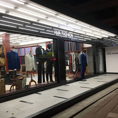 Upgraded and Renovated Ama Fashion tailor in Pattaya. Same Location.