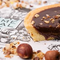Tartelette Choco/Noisette et croustillant praliné