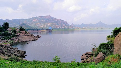 Dharoi Dam View