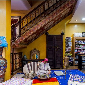 BAZAR Karim Bouriad, The destination of choice, combines the authentic Moroccan charm.