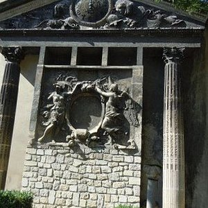 Les vestiges du Palais