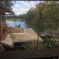 The lake bar below...