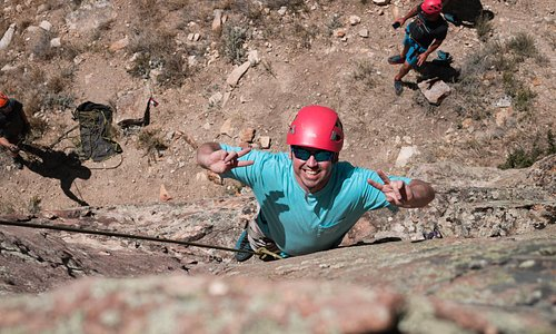 Great times on a Vail Rock Climbing Trip